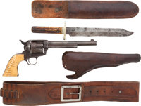 Colt Single Action Army, Delivered to Hibbard, Spencer, Bartlett and Co. of Chicago in 1883, Belonging to T. W. Searle...