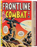 Golden Age (1938-1955):War, Frontline Combat #1-15 Bound Volume (EC, 1951-54)....