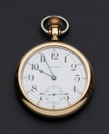 Timepieces:Pocket (post 1900), Waltham 16 Size 21 Jewel Grade 645. ...