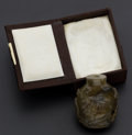 Timepieces:Other , Hardstone Chinese Snuff Bottle. ...