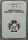 Mercury Dimes: , 1916 10C MS63 Full Bands NGC. NGC Census: (225/1666). PCGSPopulation (521/2611). Mintage: 22,180,080. Numismedia Wsl. Pric...