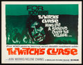 "Movie Posters:Fantasy, The Witch's Curse (Medallion, 1963). Half Sheet (22"" X 28"").Fantasy.. ..."