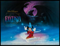 "Movie Posters:Animation, Fantasia & Other Lot (Buena Vista, R-1990). 50th Anniversaryand Regular British Quads (2) (30"" X 40""). Animation.. ... (Total:2 Items)"