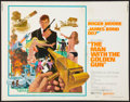 "Movie Posters:James Bond, The Man with the Golden Gun (United Artists, 1974). Half Sheet (22"" X 28""). James Bond.. ..."