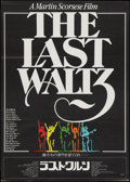 """Movie Posters:Rock and Roll, The Last Waltz (United Artists, 1978). Japanese B2 (20.25"""" X28.5""""). Rock and Roll.. ..."""