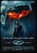 "Movie Posters:Action, The Dark Knight (Warner Brothers, 2008). One Sheet (27"" X 40"") DSAdvance Style E. Action.. ..."