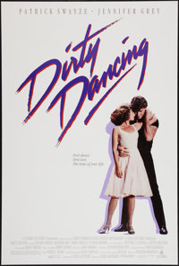 "Dirty Dancing (Vestron, 1987). One Sheet (27"" X 40""). Romance"