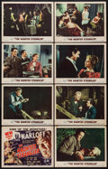"""Movie Posters:Horror, The Haunted Strangler (MGM, 1958). Lobby Card Set of 8 (11"""" X 14"""").Horror.. ... (Total: 8 Items)"""