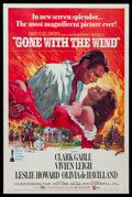 "Movie Posters:Academy Award Winners, Gone with the Wind (MGM, R-1974). One Sheet (27"" X 41"") Flat Folded. Academy Award Winners.. ..."