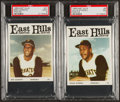 Baseball Cards:Sets, 1966 East Hills Pirates High Grade Complete Set (24) with Clemente PSA MINT 9. ...