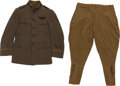 Military & Patriotic:WWI, WWI U.S. Signal Corps Pilots' Tunic and Breeches.... (Total: 2Items)