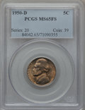 Jefferson Nickels: , 1950-D 5C MS65 Full Steps PCGS. PCGS Population (984/523). NGCCensus: (178/215). Numismedia Wsl. Price for problem free N...