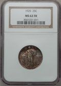 Standing Liberty Quarters, 1925 25C MS62 Full Head NGC. NGC Census: (54/397). PCGS Population(54/579). Mintage: 12,280,000. Numismedia Wsl. Price for...