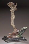 Bronze:American, A RICHARD MACDONALD PATINATED BRONZE STATUE: DIANA THEHUNTRESS. Richard MacDonald, (American, b. 1949), circa 2000...