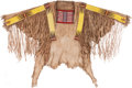American Indian Art:War Shirts/Garments, Hidatsa Quilled War Shirt, Circa 1880....