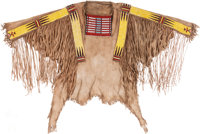 Hidatsa Quilled War Shirt, Circa 1880