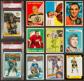 Hockey Cards:Lots, 1957 - 1991 Topps, O-Pee-Chee & Esso Hockey Collection (74)With Stars & HoFers! ...