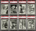 Non-Sport Cards:Sets, 1966 Topps Superman High Grade Complete Set (66) With Wrapper. ...