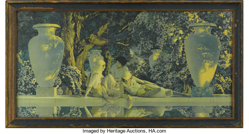 MAXFIELD PARRISH (American 1870 - 1966). The Garden of Allah, | Lot ...