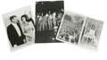 Political:Miscellaneous Political, John F. Kennedy Photo Group and Ted Kennedy Signed Photo. This lotconsists of eight photographs, seven of them press shots ...(Total: 8 )