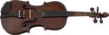 "Miscellaneous, Jim Younger's ""Fiddle"" Played by Him at the Famous 1898 ChristmasParty at Stillwater Prison. ..."
