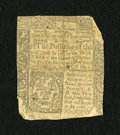 Colonial Notes:Connecticut, Connecticut June 19, 1776 1s/3d Good. A reasonably attractive noteeven though only about 75% of it is still intact. Most o...