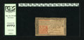 Colonial Notes:New Jersey, New Jersey March 25, 1776 18d PCGS Extremely Fine 45PPQ. The print is bright and signatures sharp on this early New Jersey p...