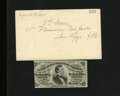 Fractional Currency:Third Issue, Fr. 1291 25c Third Issue Choice New. This lovely, well embossed red back Fessenden comes with an auction envelope showing a ...