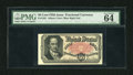 "Fractional Currency:Fifth Issue, Fr. 1381 50c Fifth Issue PMG Choice Uncirculated 64. This is acrisp and well embossed Crawford note that has ""Exceptional P..."