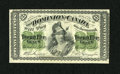Canadian Currency: , DC-1c 25¢ March 1, 1870. This is simply a well inked Shinplasterthat exhibits a few light folds. The value of these early Can...