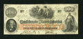 Confederate Notes:1862 Issues, T41 $100 1862. This brightly printed note saw little to no circulation as there are no folds or handling to speak of. There ...