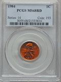Lincoln Cents: , 1984 1C MS68 Red PCGS. PCGS Population (83/3). NGC Census: (3/0).Numismedia Wsl. Price for problem free NGC/PCGS coin in ...