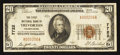 National Bank Notes:Pennsylvania, Trevorton, PA - $20 1929 Ty. 1 The First NB Ch. # 7722. ...