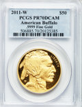 Modern Bullion Coins, 2011-W $50 One-Ounce Gold Buffalo PR70 Deep Cameo PCGS. .9999 FineGold. PCGS Population (432). NGC Census: (1605). ...