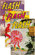Silver Age (1956-1969):Superhero, The Flash Group (DC, 1959-61) Condition: Average GD/VG.... (Total:16 Comic Books)