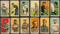Baseball Cards:Lots, 1909-11 T206 White Borders Group (12) With HoFers, SouthernLeaguers & Scarce Brands. ...