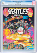 Magazines:Miscellaneous, Marvel Comics Super Special #4 The Beatles Story (Marvel, 1978) CGCNM 9.4 White pages....