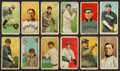 Baseball Cards:Lots, 1909-11 T206 White Borders Group (12) With HoFers & SouthernLeaguers & Scarcer Brand. ...