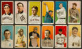 Baseball Cards:Lots, 1909-11 T206 White Borders Group (12) With HoFer, Southern Leaguers& Scarce Brands...