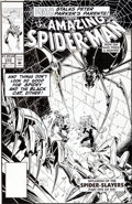 Original Comic Art:Covers, Mark Bagley and Randy Emberlin The Amazing Spider-Man #372Cover Original Art (Marvel, 1992)....
