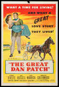"""Movie Posters:Drama, The Great Dan Patch (United Artists, 1949). One Sheet (27"""" X 41""""). Drama.. ..."""