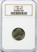 Proof Jefferson Nickels: , 1938 5C PR66 NGC. NGC Census: (439/194). PCGS Population (782/236).Mintage: 19,365. Numismedia Wsl. Price for problem free...