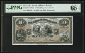 Canadian Currency: , Halifax, NS- The Bank of Nova Scotia $10 Jan. 2, 1935 Ch. #550-36-04. ...