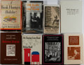 Books:Books about Books, [Books About Books]. Group of Eight Related Books. Various editions and publishers. Very good or better condition.... (Total: 8 Items)