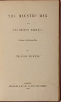 Books:Literature Pre-1900, Charles Dickens. The Haunted Man and The Ghost's Bargain.Bradbury & Evans, 1848. First edition, first printing. Cus...