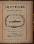 Books:Sporting Books, [Angling]. Thomas Bewick [engraver]. Edwin Pearson [editor]. TheAngler's Garland, and Fisher's Delight for 1871. Bi...