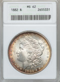 Morgan Dollars: , 1882 $1 MS62 ANACS. NGC Census: (1656/13769). PCGS Population(1681/12193). Mintage: 11,101,100. Numismedia Wsl. Price for ...