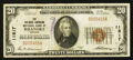National Bank Notes:Virginia, Roanoke, VA - $20 1929 Ty. 1 The Colonial-American NB Ch. # 11817....