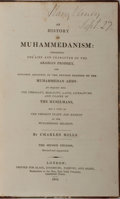 Books:Religion & Theology, [Islam]. Charles Mills. An History of Muhammedanism. Black, et al., 1818. Second edition. xxi, 484 pages. Contempora...