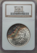 Morgan Dollars: , 1883-O $1 MS62 NGC. NGC Census: (9536/97146). PCGS Population(11357/86451). Mintage: 8,725,000. Numismedia Wsl. Price for ...
